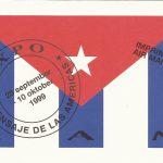 Mensaje desde las americas invitation card